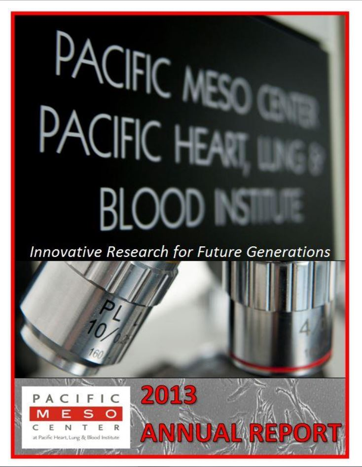 Annual Report - Pacific Heart, Lung & Blood Institute
