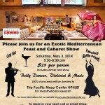 Exotic Mediterranean Feast and Cabaret Show to Benefit Mesothelioma Victims