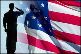 Flag and Soldier Picture