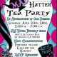 Mad Hatter Tea Party April 23rd, 2016
